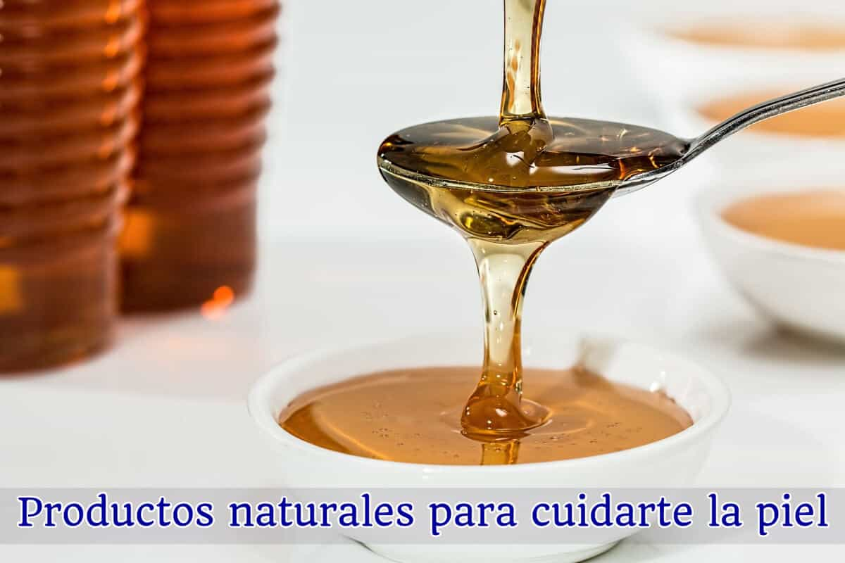 Productos Naturales para la piel